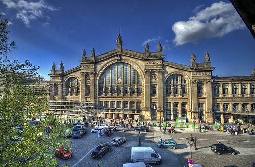 Вокзал Gare du nord, Париж