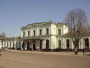 Жд вокзал Пскова - Псков-пассажирский