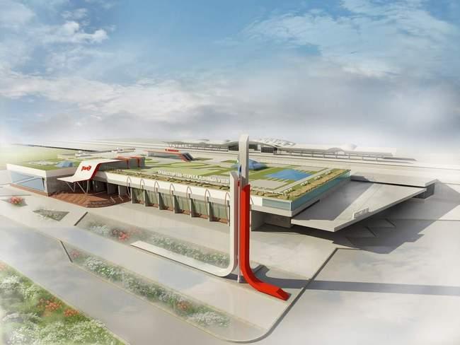 новый вокзал Казань-2