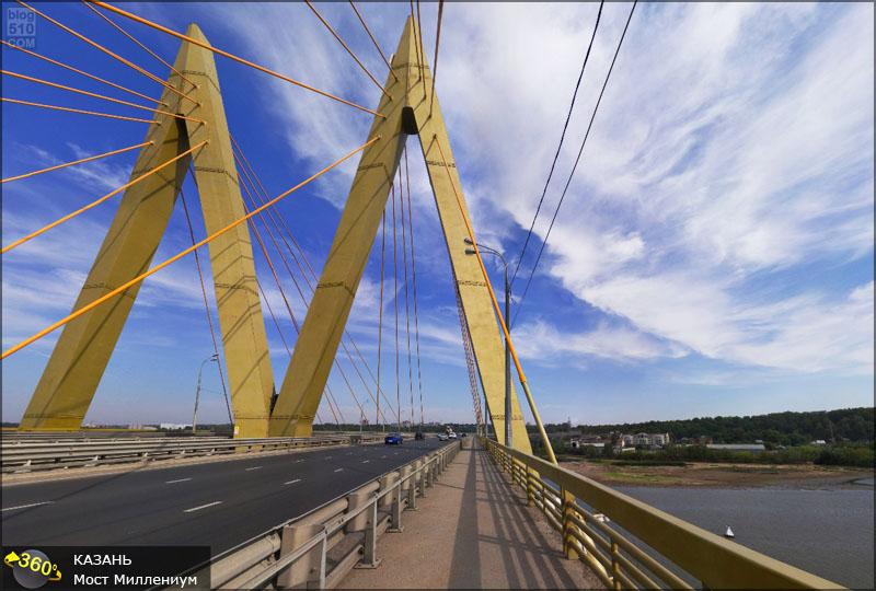 Мост Миллениум Казань