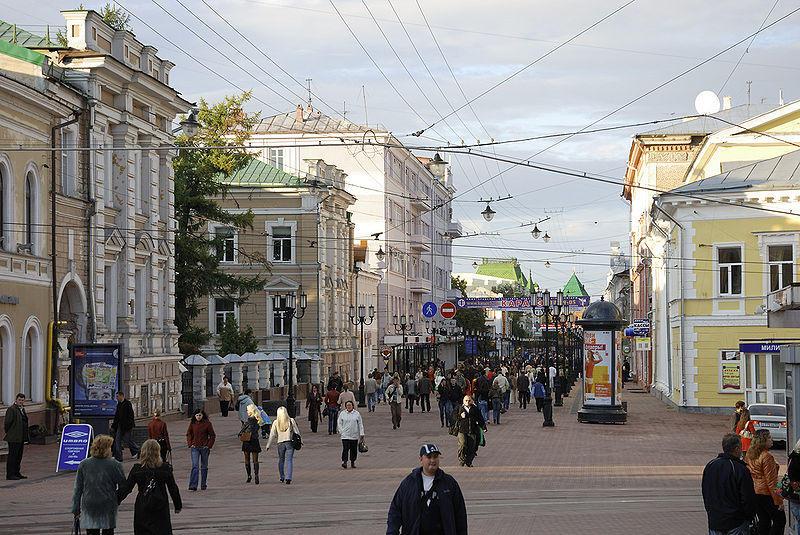 Нижний Новгород большая покровская улица
