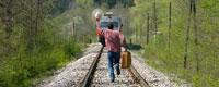 После получения временного билета остается только добраться до багажа