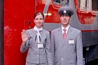 на поезда Москва-Париж и Москва-Ницца действует электронная регистрация.