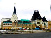 Здание Ярославского вокзала (Москва, Комсомольская площадь)