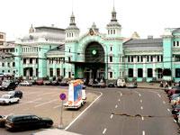 Здание Белорусского вокзала в Москве