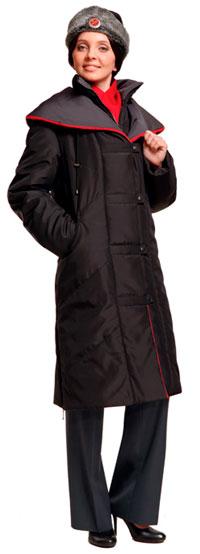 Пальто форменное женское зимнее