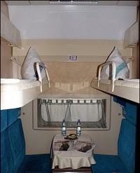 Купе фирменного поезда «Россия»