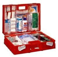 Купите готовую аптечку, дополнив ее по необходимости тем, что нужно именно вам
