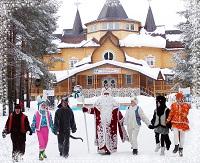 Дед Мороз и его резиденция