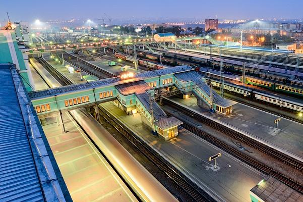 90-метровый конкорс новосибирского вокзала