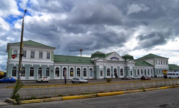 Здание Бердянского вокзала