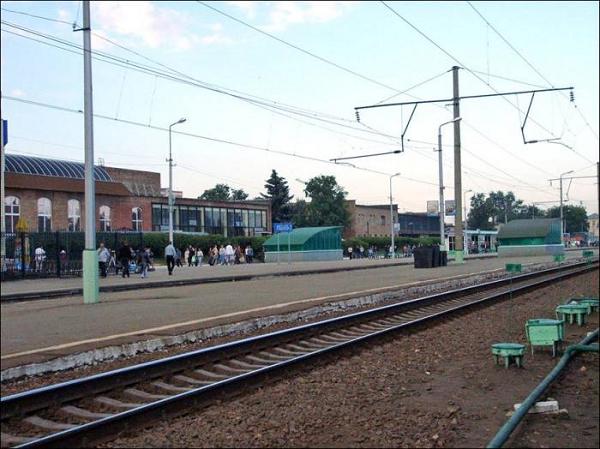 Платформа станции Рязань-2