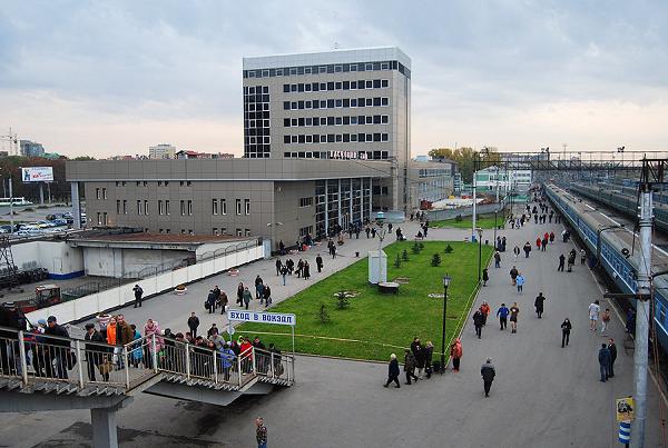 Железнодорожный вокзал Тюмень