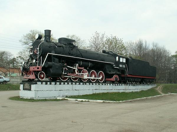 Паровоз-памятник ФД-20