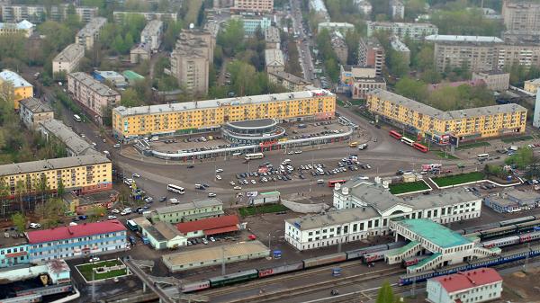 Панорама города Кирова