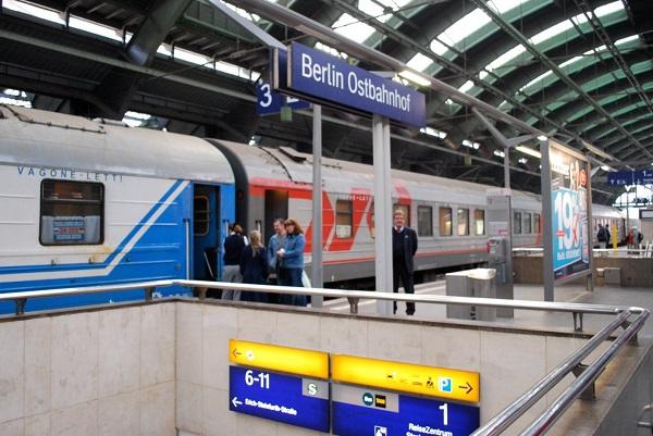 Купить билет на поезд москва берлин