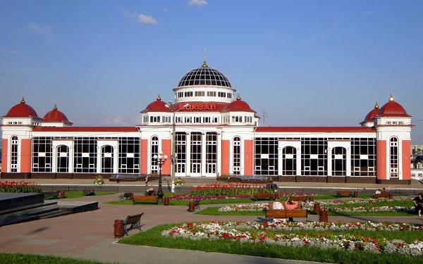 Прилегающая территория ж/д вокзала Саранск