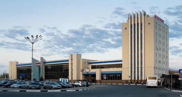 Современное здание белгородского вокзала