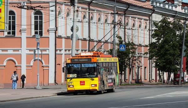 Томский троллейбус №4