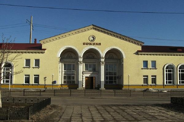 Здание вокзала в Валуйках