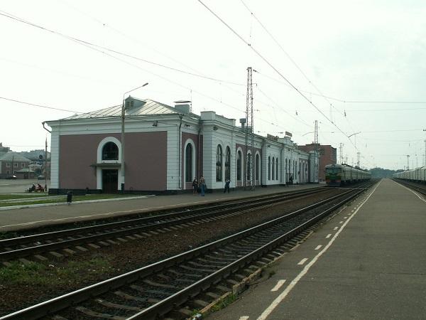 Ярославль – Московский вокзал со стороны путей
