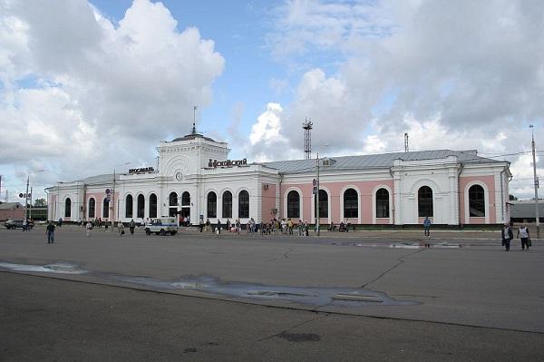 Здание Ярославль – Московского вокзала