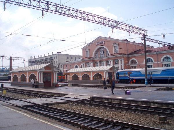 На фото – вокзал Брянск Орловский