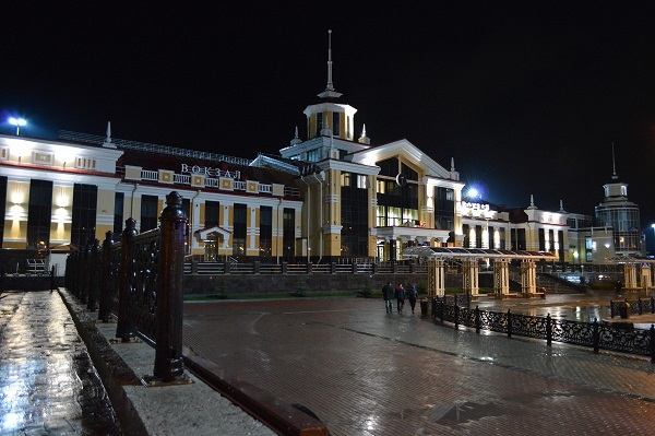 Новое здание новокузнецкого вокзала
