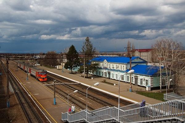 На фото – вокзал Алексеевка Белгородской области