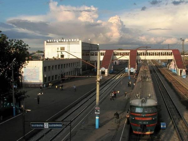 На фото – вокзал Петропавловска