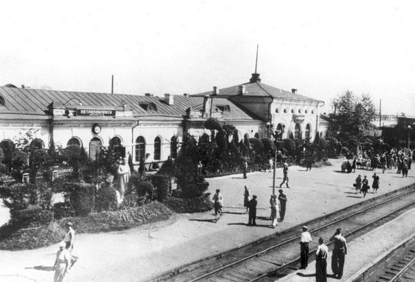 Вокзал Петропавловска в 1930-е