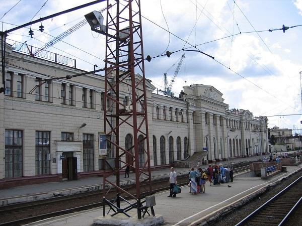 Московский вокзал на станции Тула-1 Курская