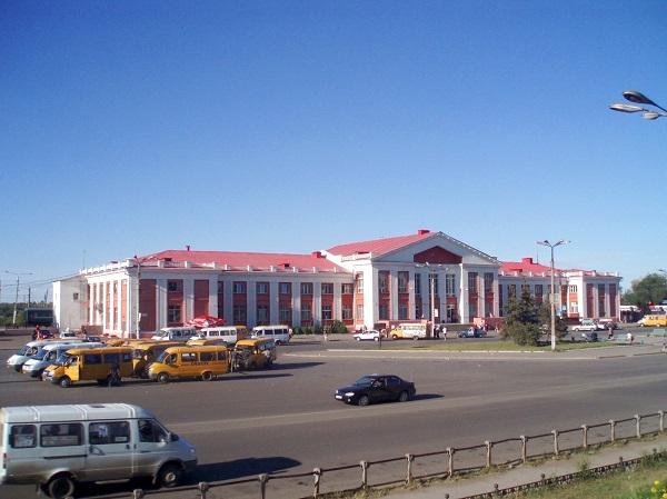 Ж/д вокзал Магнитогорска