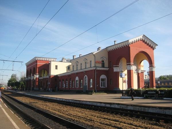 На фото – ж/д вокзал Орла