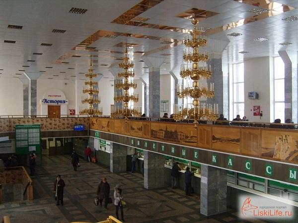 Вокзал Лиски