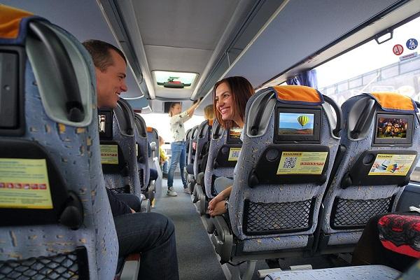 Комфортная поездка на автобусе